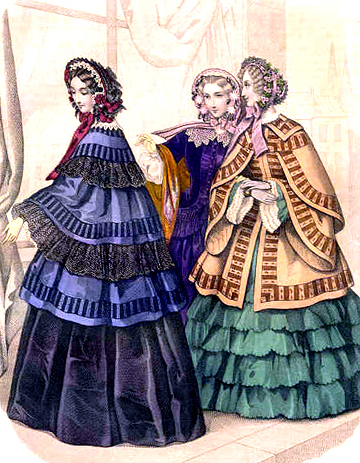 Early Victorian Women s Hats  Part 1 ea05fca057ee