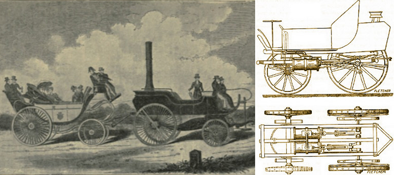 Gurney's steam drag, Kate Tattersall Adventures.