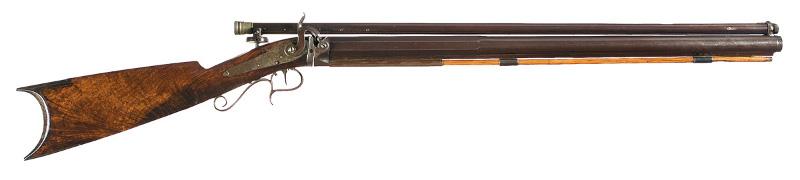 American target rifle, circa 1865.