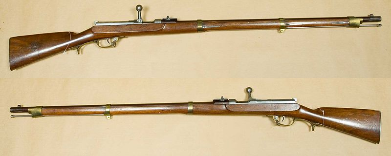 The Leichte Perscussions-Gewehr (Light percussion gun) Model 1841.