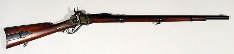 Sharps rifle Model 1859.