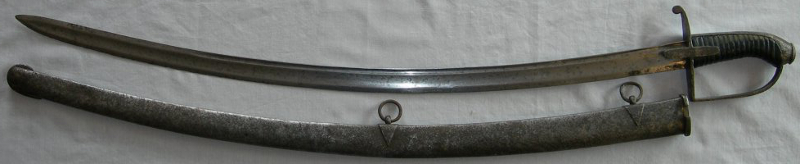 1788 Pattern Light Cavalry Sabre.