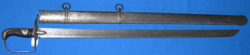1796P heavy cavalry troopers sword hatchet point
