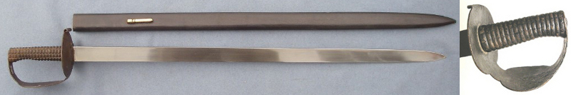 1804 Pattern Royal Navy Boarding Cutlass.