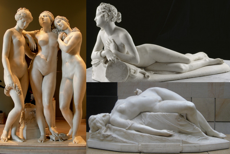 sculpture 1820s to 1870s