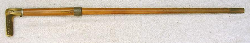 Dumonthier walkingstick 410 shotgun, first patented in 1876.