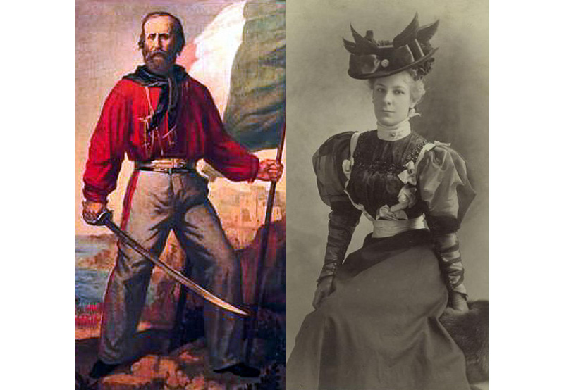 Garibaldi & lady 1890s