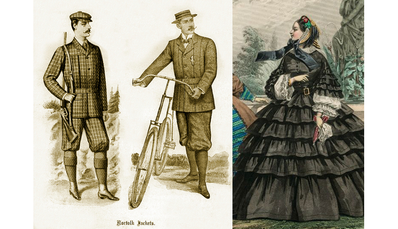 Victorian Fashion Terms; N ~ Z | Kate Tattersall Adventures