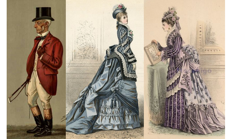 What clothing did people wear in Australia in the 1800's?