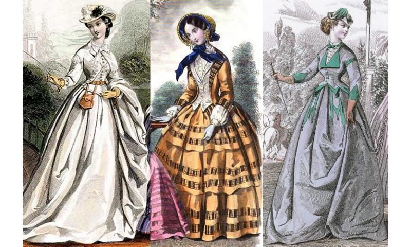 reticule 1863; revers 1851-52, revers 1866