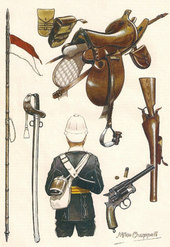 17th Lancers, 1870s